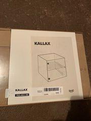 IKEA KALLAX Einsatz Glastür