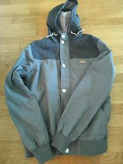 Iriedaily Jacke Schwarz Grau Größe