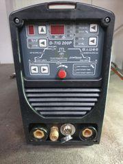 LCD-Vision D-TIG 200P WIG Schweißgerät