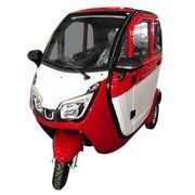 Stormborn Y8 Elektro-Kabinenfahrzeug - rot weiß -