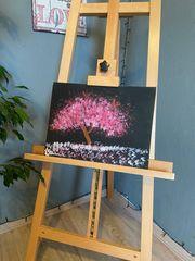 Acrylbild Die Kirschblüten