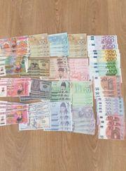 Banknoten sammlung Spiel