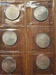 100 500 Schilling Münzen