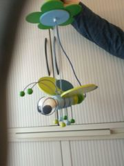 Kinderzimmerlampe Biene