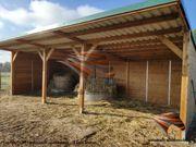 Weideunterstand Pferdeunterstand Weidehütte Offenstall Unterstand