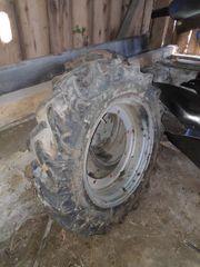 Kotflügel 1 Paar für 16 Zoll Reifen Länge ca 63 cm Breite ca 16,5 cm Traktor