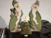 1 Set Weihnachtsmann 3 teilig