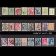 Alte Briefmarken aus Rumänien