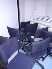 9 Bürostühle Pfandrechtsversteigerung