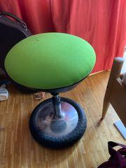 Bürostuhl Lederstuhl hoch gebraucht Gebrauchsspuren