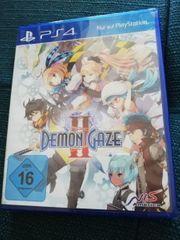 Demon gaze 2 PS4 OVP