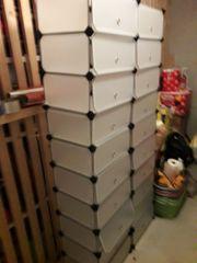 Kunststoff Schrank mit20 Fächer zu