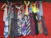 Krawatten-Schlipse 22 Stck