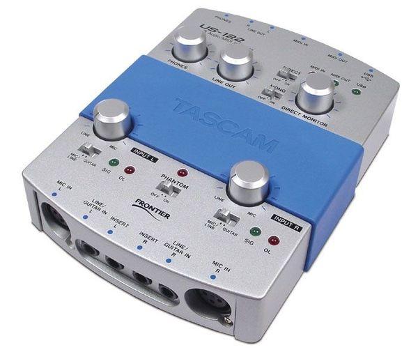 Tascam US-122 USB AUDIO MIDI