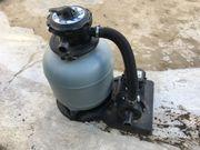 Pool-Pumpe mit Sandfilter