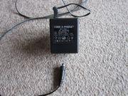 Netzteil AC-Adapter 9 V-600 mA