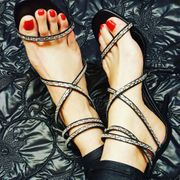 Heels Stiefel Ballerinas Fuß Fetisch
