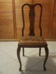 Queen-Ann-Stil-Stühle 2 Stück