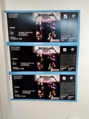 1 Konzerttickets Metallica in Mannheim