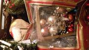 2 Große Kisten Weihnachtsdeko