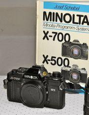 Minolta X 500 700 mit