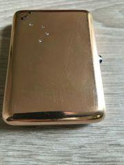 russisches Zigarettenetui 585 Gold 56