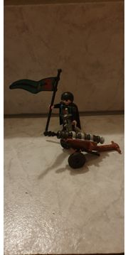 Playmobil Raubritter mit Geschütz