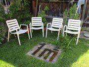 4 Stk Gartenstühle
