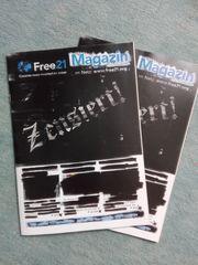 Free21-Magazin 2 Exemplare kostenfrei anzugeben