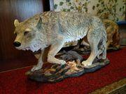 Wolf Polystone riesig