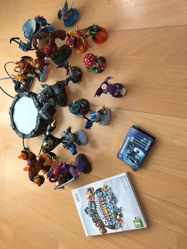 Wii Skylander Giants Spiel samt