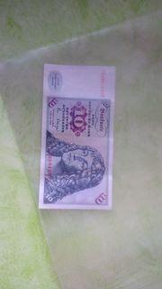 10-DM Geldschein