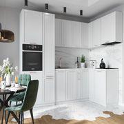 Eckküche Küche Küchenzeile ADELE weiß