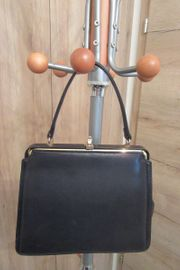 Kunstlederhandtasche 50er Jahre