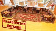Orientalische Sitzecke Sark Kösesi 21-tlg