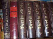 Berlin-Archiv Bände