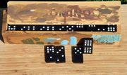 Altes Dominospiel aus Holz K31a