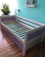 Kinder -Jugendbett inklusive Gästebett Matratzen