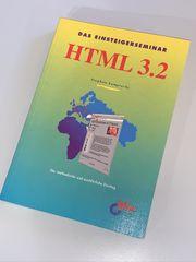 Buch HTML 3 2 Informatik