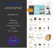 Webseite für Möbel- und Einrichtungsmärkte