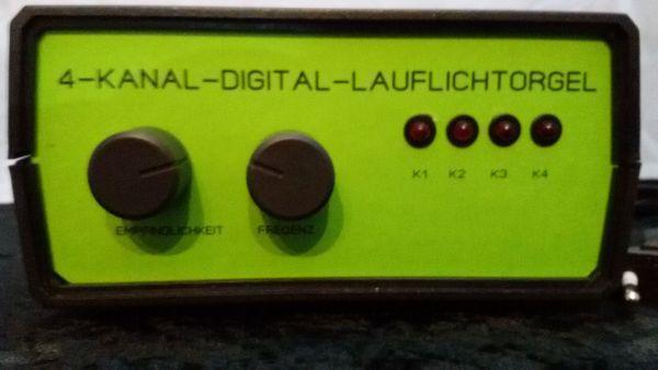 4-Kanal-Digital-Lauflichtorgel