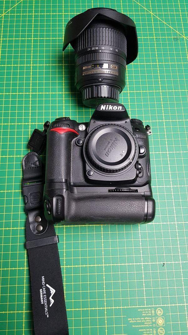 Nikon D7000 mit Nikon DX AF-S Nikkor 10-24mm 1: 3, 5-4, 5G ED