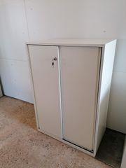 Sideboard 3 Ordnerhöhen Aktenschrank Büroschrank -