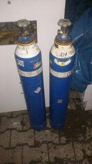 Messer Griesheim Sauerstoff Flaschen 10Liter