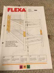 Etagenbett-Teile Leiter von Flexa ohne