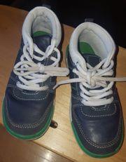 Blaue Schuhe Gr 28