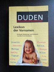 Buch Lexikon der Vornamen vom