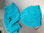 Damenmütze mit Loop Schal
