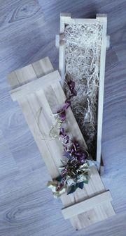 Weinkiste aus Holz Geschenkbox nachhaltige