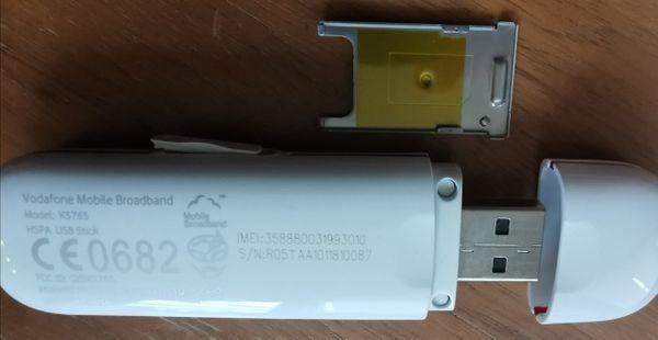 Internet Surfstick Huawei Vodafone K3765